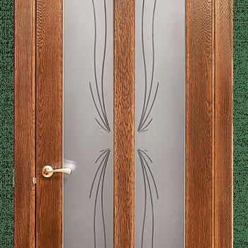 Дверь Мария со стеклом