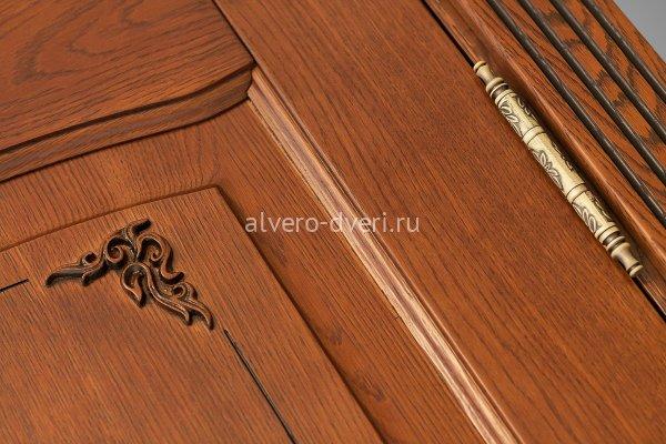 дверь Венеция цвет дуб табачный