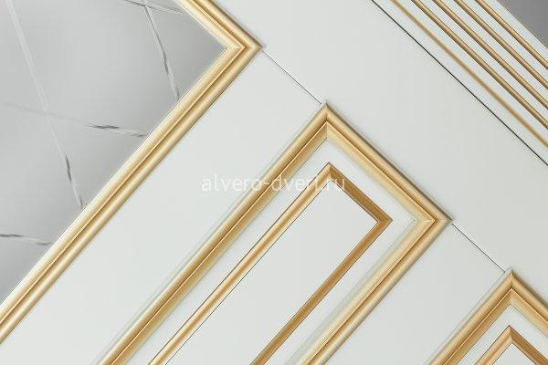 дверь Рим цвет Ваниль золото