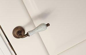 Дверь Ирина цвет Белая эмаль