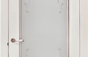 дверь вероника остекленная