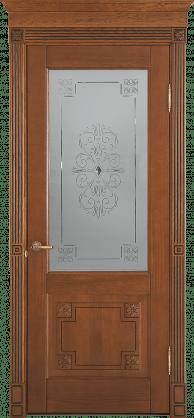 Дверь Флоренция с декором