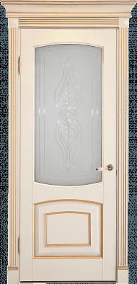 Дверь со стеклом Елена
