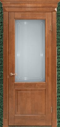 Дверь со стеклом Кантри