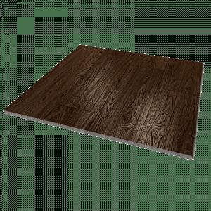 Масивная доска из дуба цвета черный орех