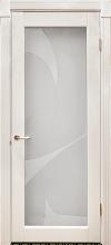 Дверь из массива ВероникаДверь Вероника со стеклом