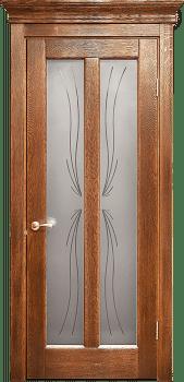 Дверь со стеклом Мария